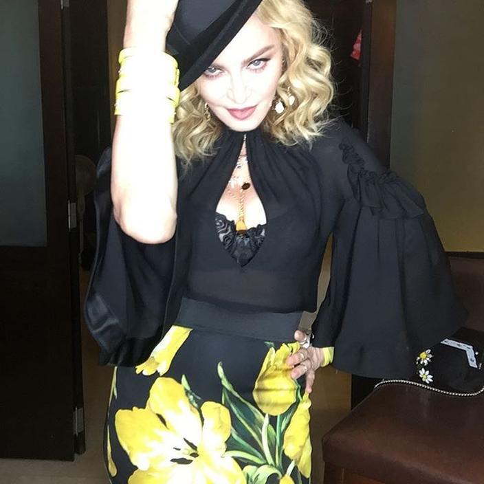 Madonna Celebrates Birthday In Cuba