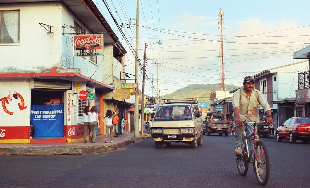 On the street: San Ramon, Costa Rica