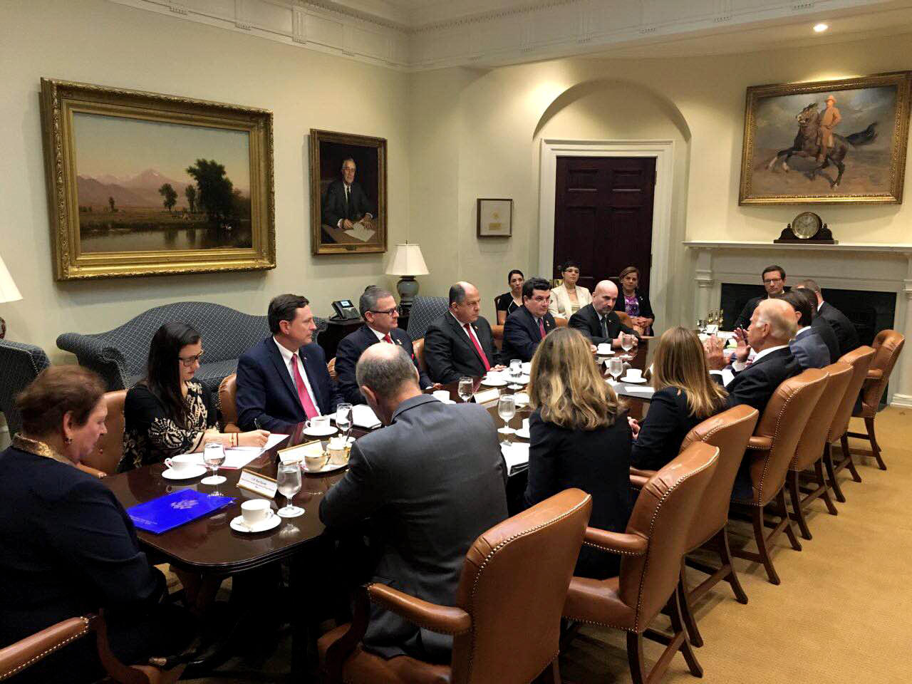 At White House Monday, August 22 2016