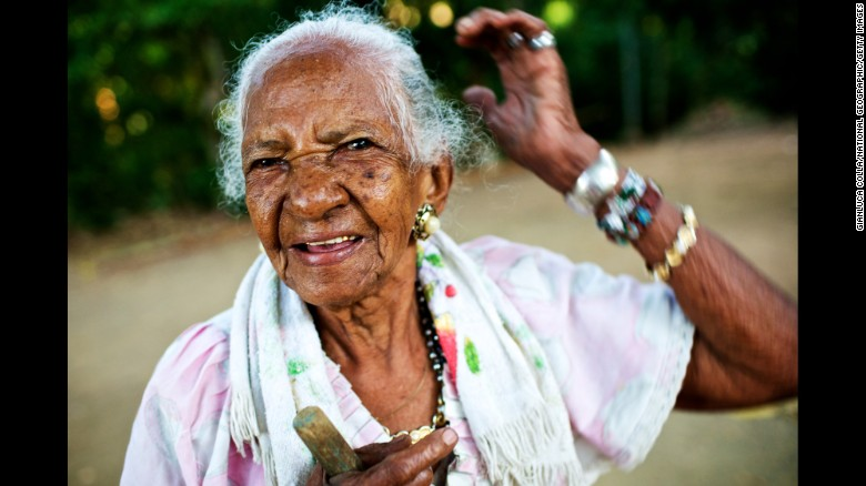 Nicoya Peninsula, Costa Rica – The Blue Zones is the name given to the five world regions celebrated for the health and longevity of their populations. Second on the list is Nicoya peninsula in Costa Rica, where this 101-year-old woman hails from