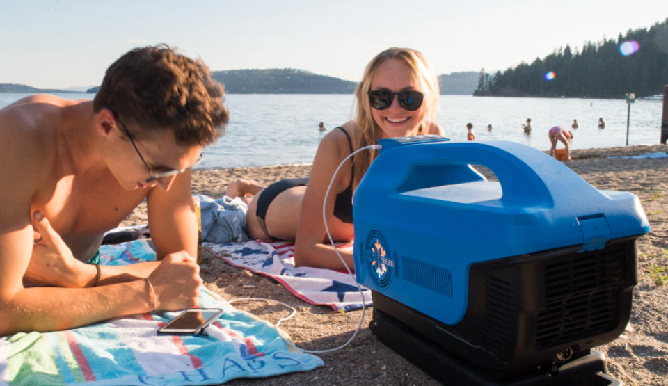 Enjoying a Costa Rica beach with your personal portable air conditioner can be a breeze