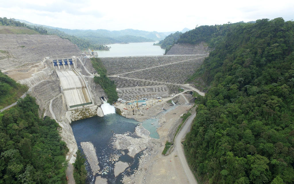 Reventazon hydroelectric dam is the secong biggest infrasctructure project in Central America after the Panama Canal and the largest of its kind in the region