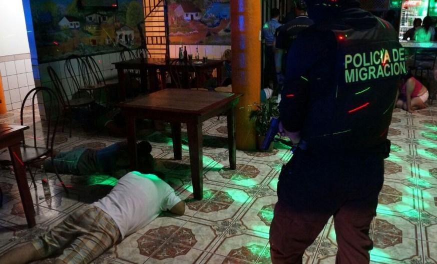 Immigration police break up human trafficking ring in La Fortuna de San Carlos