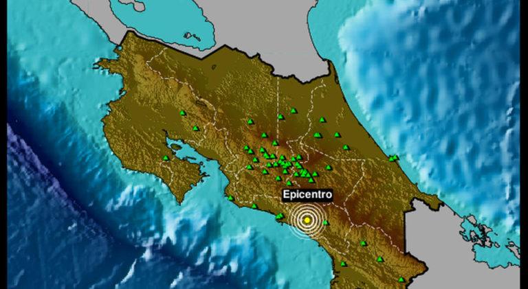5.1 Quake Rocks Costa Rica Saturday Afternoon