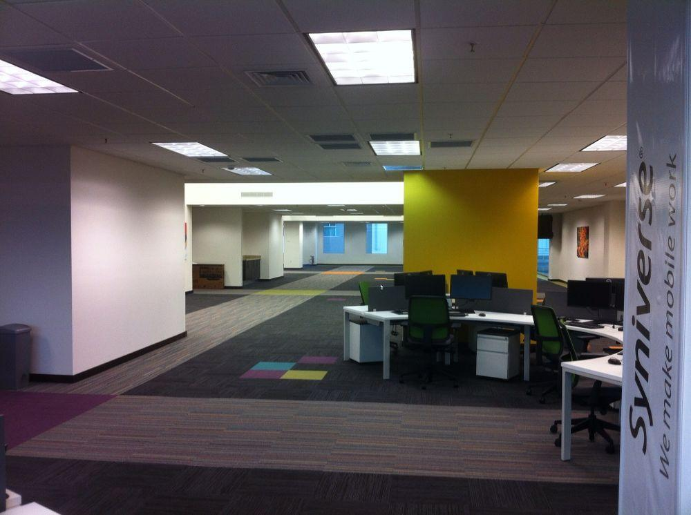 Vacancy rate in office space is above the 10% threshold for defining market saturation