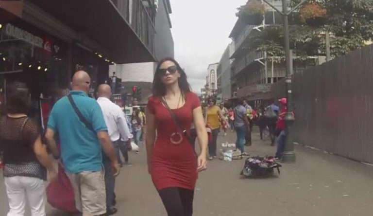 Video Shot in San Jose Tries To Put A Halt To Street Harassment By Ticos