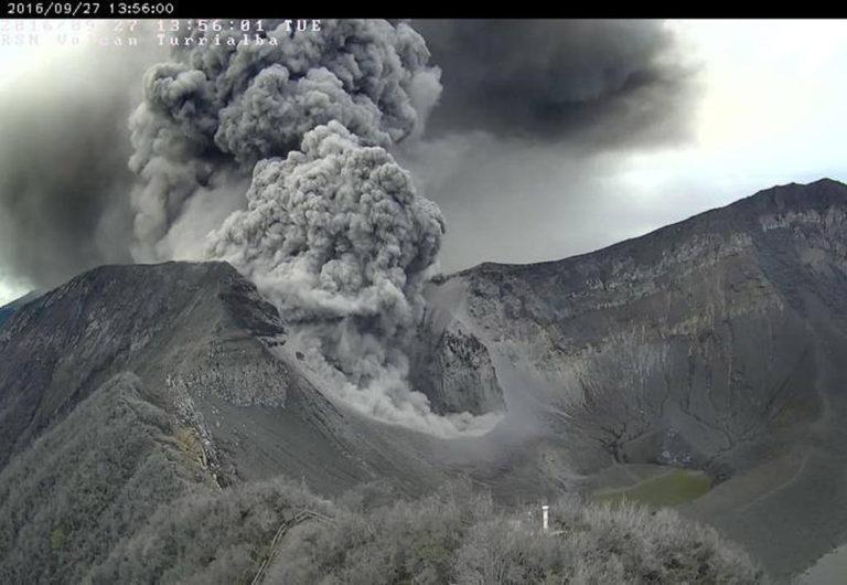 Turrialba volcano activity continues