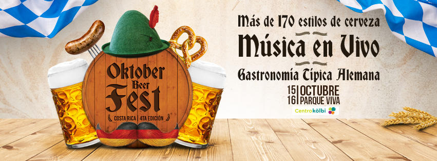 he 4th edition of Oktober Beerfest will take place October 15-16