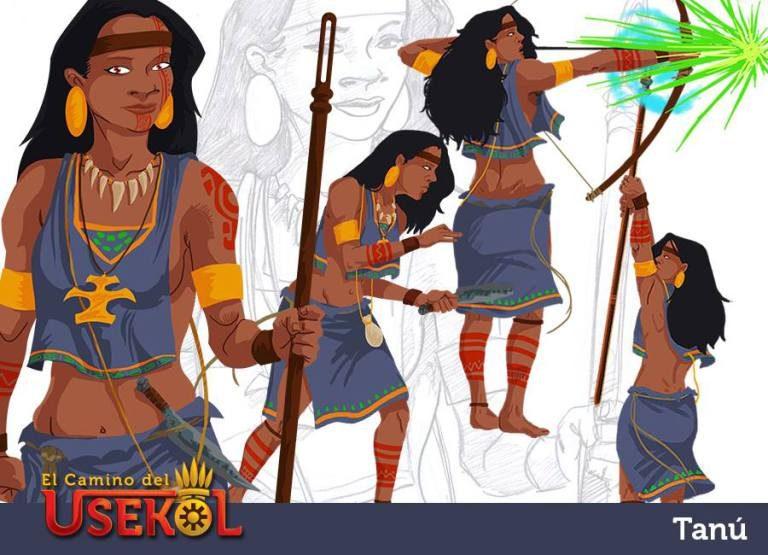 Videogame on Costa Rica Indigenous Mythology