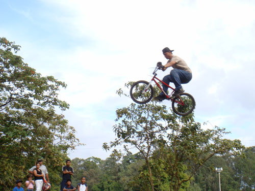 Cycling high ...