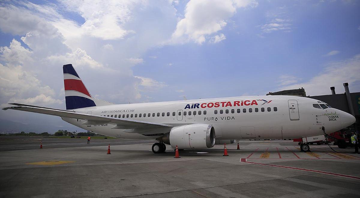 26/10/16. Aeropuerto Juan Santamaria. Lanzamiento y presentación del avión de Air Costa Rica. Foto: Rafael Pacheco