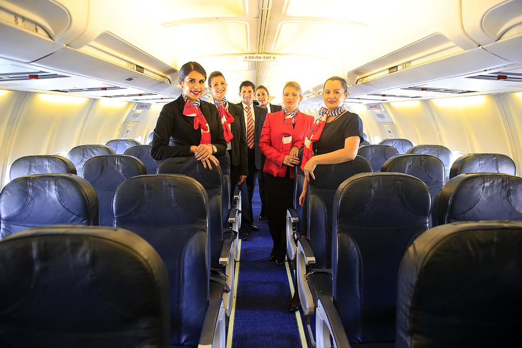 Air Costa Rica. Foto: Rafael PacheAir Costa Rica flight crew. Foto: Rafael Pacheco