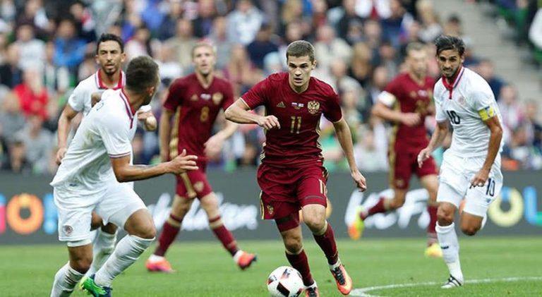 Costa Rica Beat Russia 4-3 in Friendly