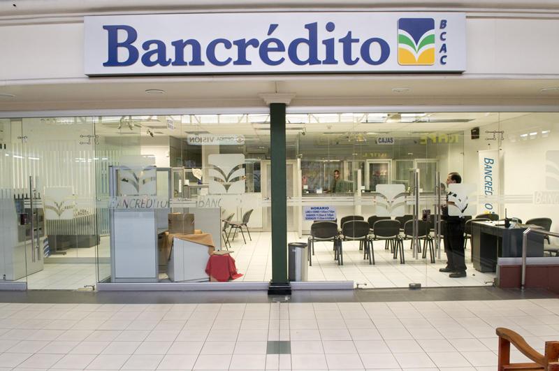 The Banco Crédito Agrícola de Cartago (Bancrédito)