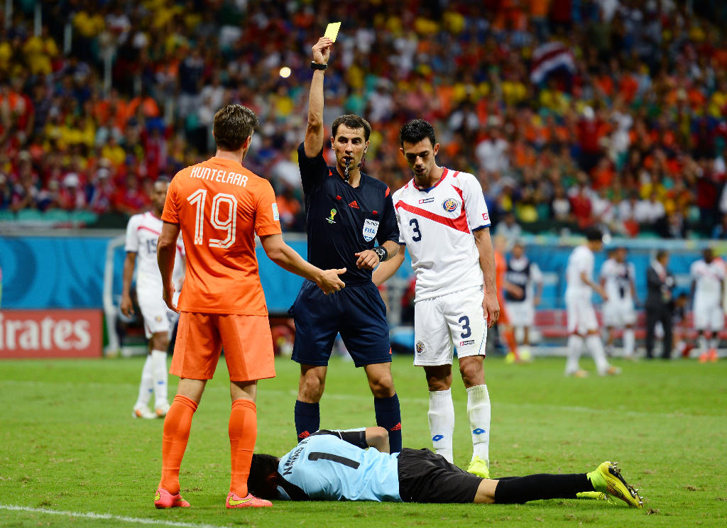 From the 2014 FIFA World Cup Brazil Quarter Final match between the Netherlands and Costa Rica (Jamie McDonald/Getty Images)