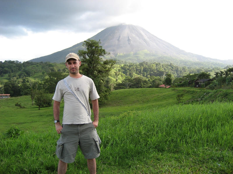 Michael Dixon pictured in Costa Rica, days before his disappearance. (PRNewsFoto/David Dixon)