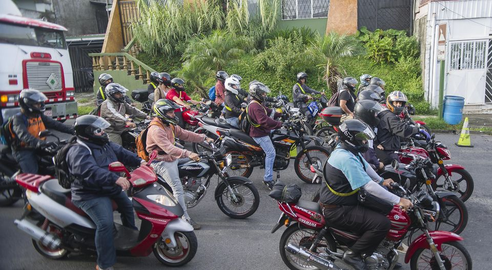 Every day the national registry records on average 215 new motorcycle registrations