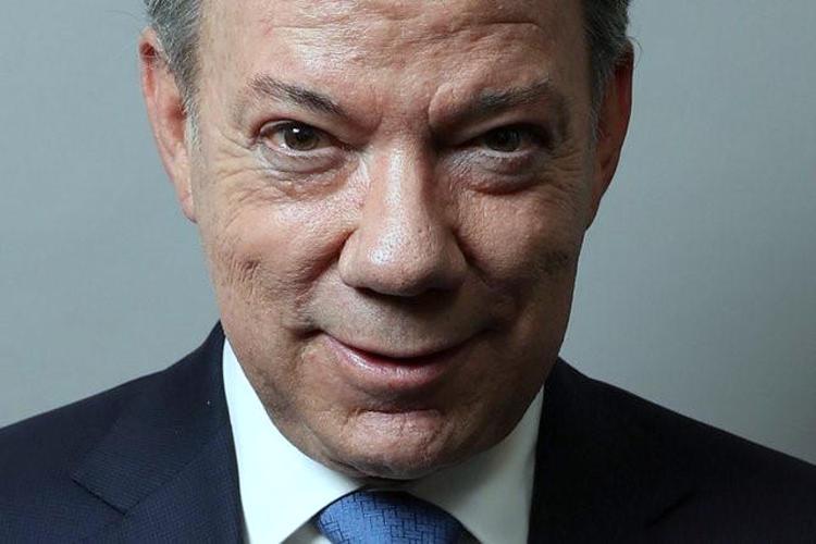 Colombia's President Manuel Santos