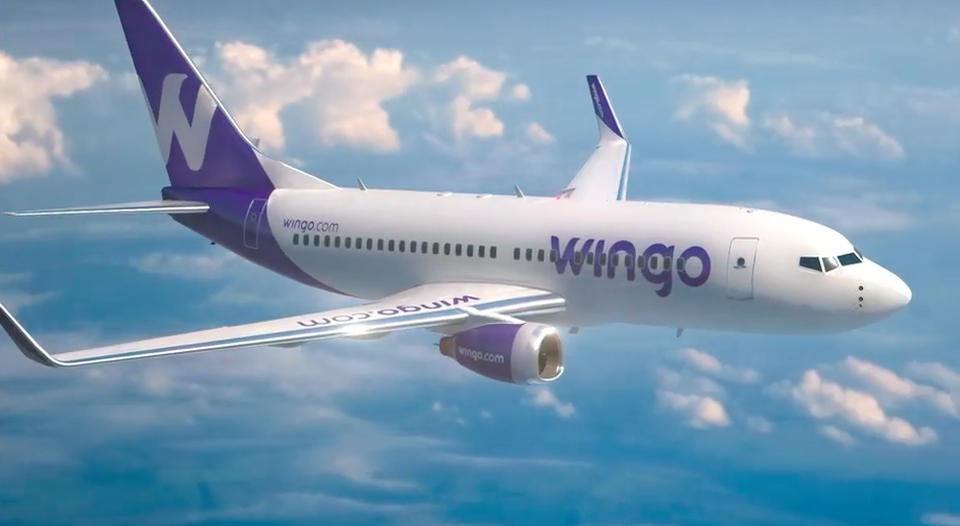 Wingo that starts operation on December 1 will offer low-cost flights from Costa Rica's San Jose airport to Panama and Guatemala