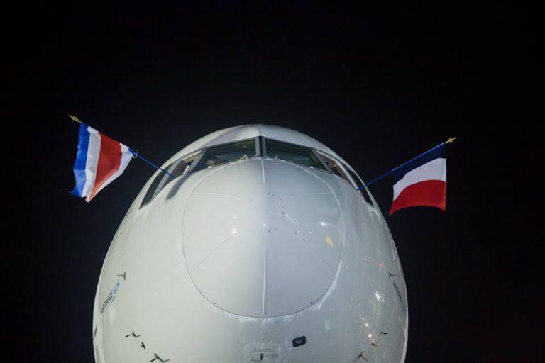 The Inaugural Arrival of Air France (Photos)