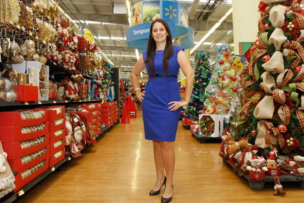 Mariela Pacheco, coordinator of Corporate Affairs for Walmart. File photo, La Republica