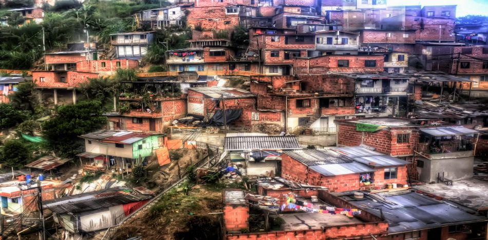 A view of Medellin from the Metro Cable. The common argument for more taxes in Colombia is that low-income people will access programs for free housing, health, and education. (Flickr)