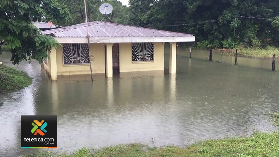 Many homes are under water this morning in a number of communities in the southern zone