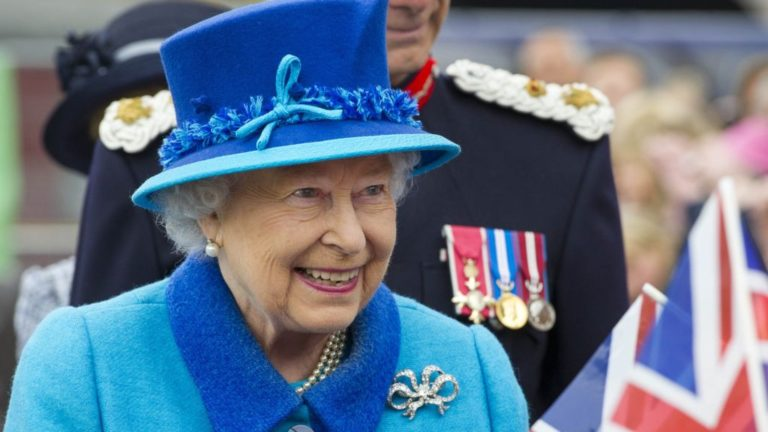 Queen Of England Announces Restoration Of British Rule Over United States