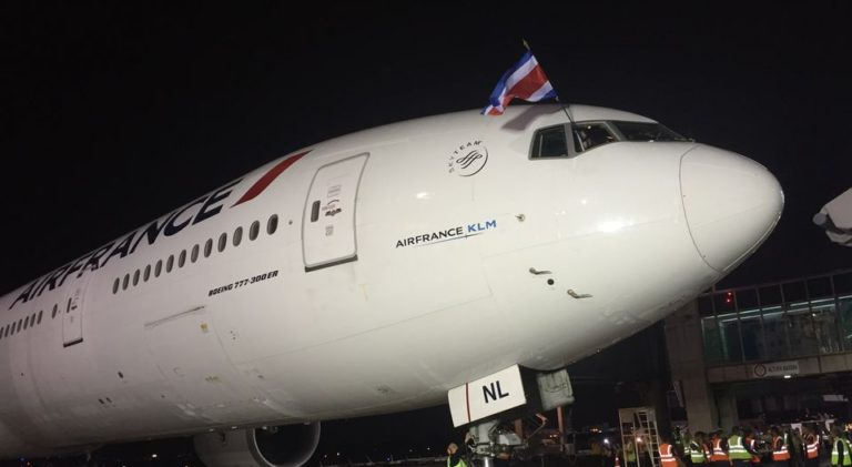 Air France Annouces Increase In Weekly Frequency of Direct Flights to Costa Rica