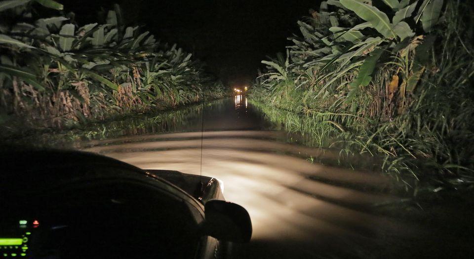 Batan is under water