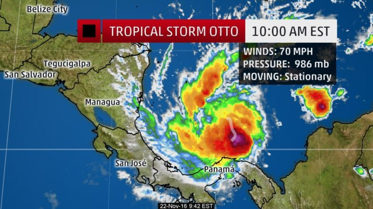 HURRICANE WATCH ISSUED FOR COSTA RICA AND SOUTHERN NICARAGUA