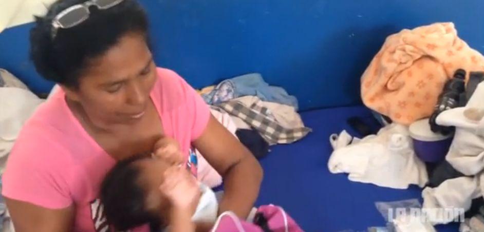 Screen capture from La nacion video