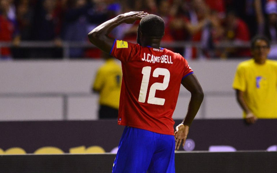 Joel Campbell put two goals past US goalie