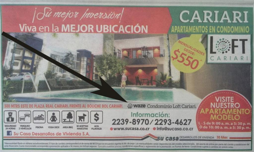 A recent newspaper ad in Costa Rica. (Felipe Hidalgo)