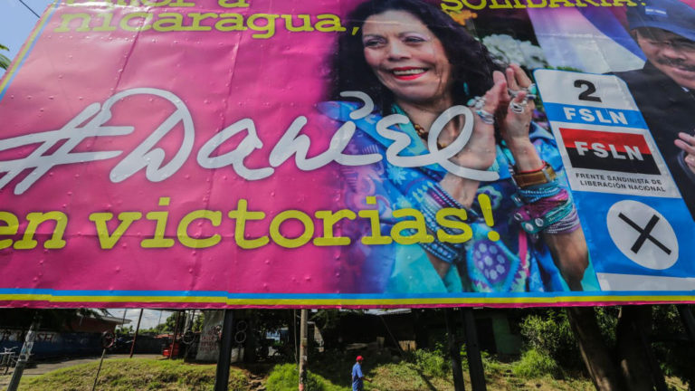 Think the U.S. election has been a dumpster fire? Try voting in Nicaragua