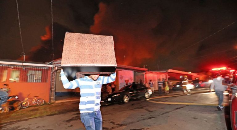 The Leon XIII Fire In Pictures