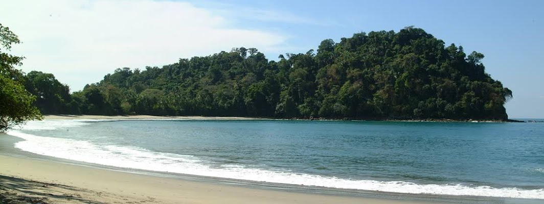 Manuel Antonio National Park, on Costa Rica's central Pacific coast, encompasses rugged rainforest, white-sand beaches and coral reefs.