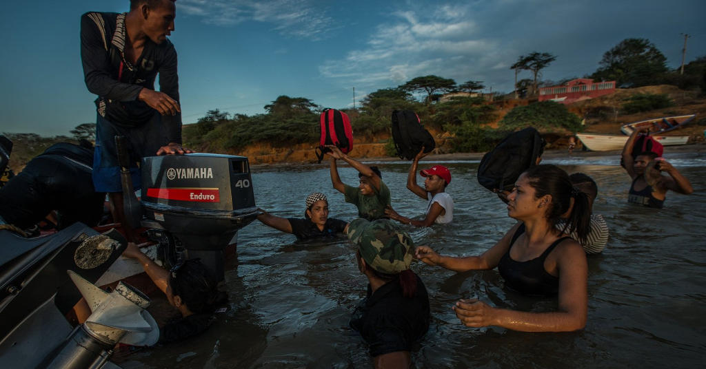 Hungry Venezuelans Flee in Boats to Escape Economic Collapse. Well over 150,000 people have fled Venezuela in the last year alone, the most in more than a decade, scholars say, with the sea route posing special dangers. nytimes.com