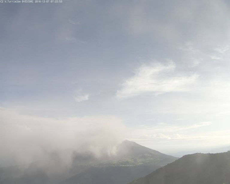 Turrialba Blew Its Stack This Morning After 5 Days Of No Activity