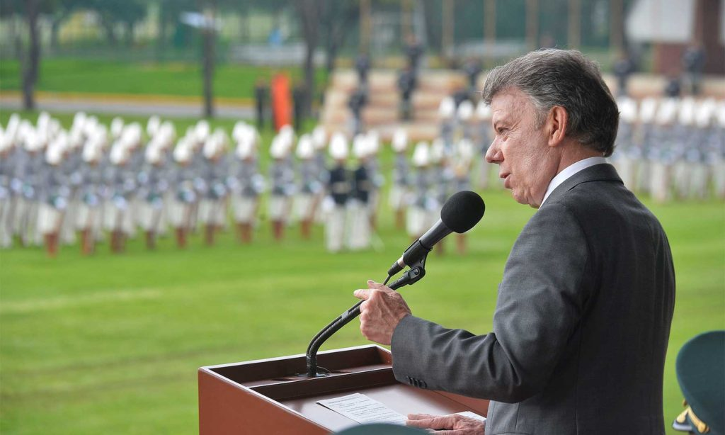 In 150 days, all FARC weapons will be in the hands of the United Nations: President Santos