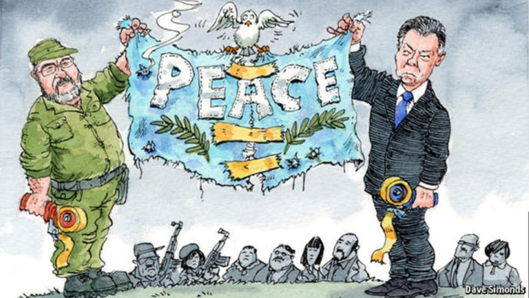 Colombia, A Country Divided For Peace