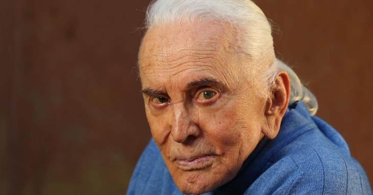 Legendary screen actor, Kirk Douglas, sat down with USA TODAY's Andrea Mandell to talk about his poems in 'Life is verse.' Douglas tells stories about his son Michael's entry into acting. Video shot by Dan MacMedan for USA TODAY.