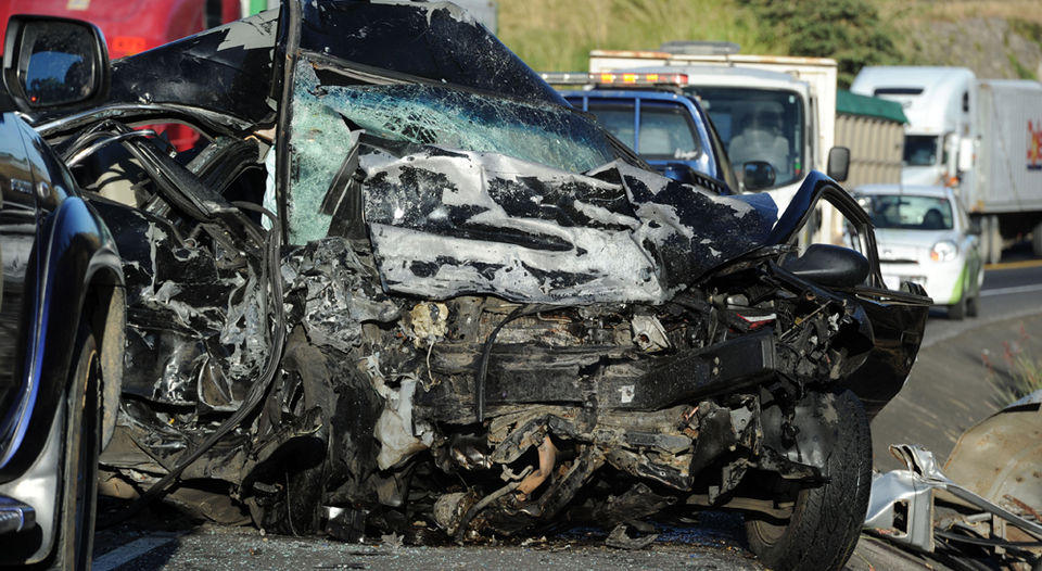 January 16, 2014, a frontal collision between two vehicles left three people dead and one injured. The fact happened in kilometer 15 of the route to Caldera. (Illustrative picture)   ARCHIVO / ALONSO TENORIO