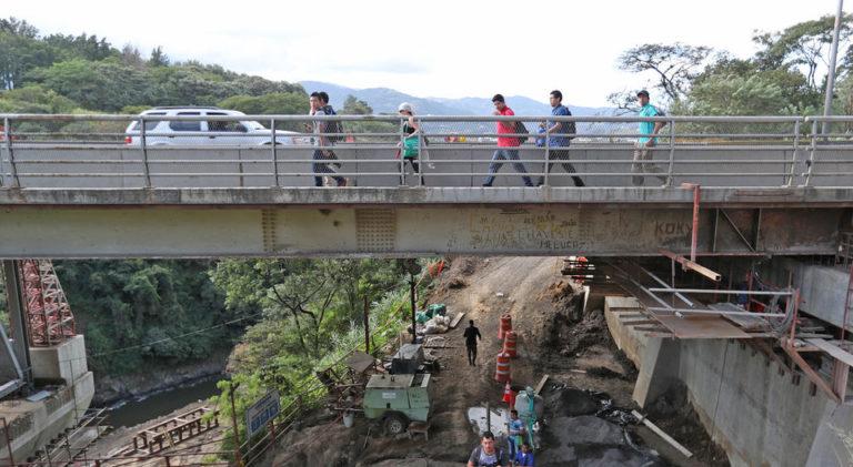 OJO! Platina Bridge Alajuela – San Jose CLOSED This Weekend