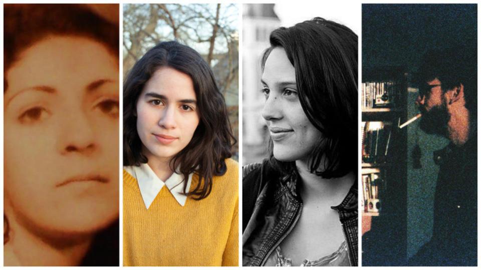 Clockwise from left: Roya Eshragi, Nathalie Álvarez Mesén, Sofia Quiros and Cristóbal Serrá Jorquera