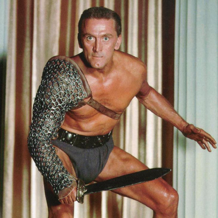 He's Spartacus: Douglas in his most famous role. Photograph: Pictorial Press Ltd/Alamy