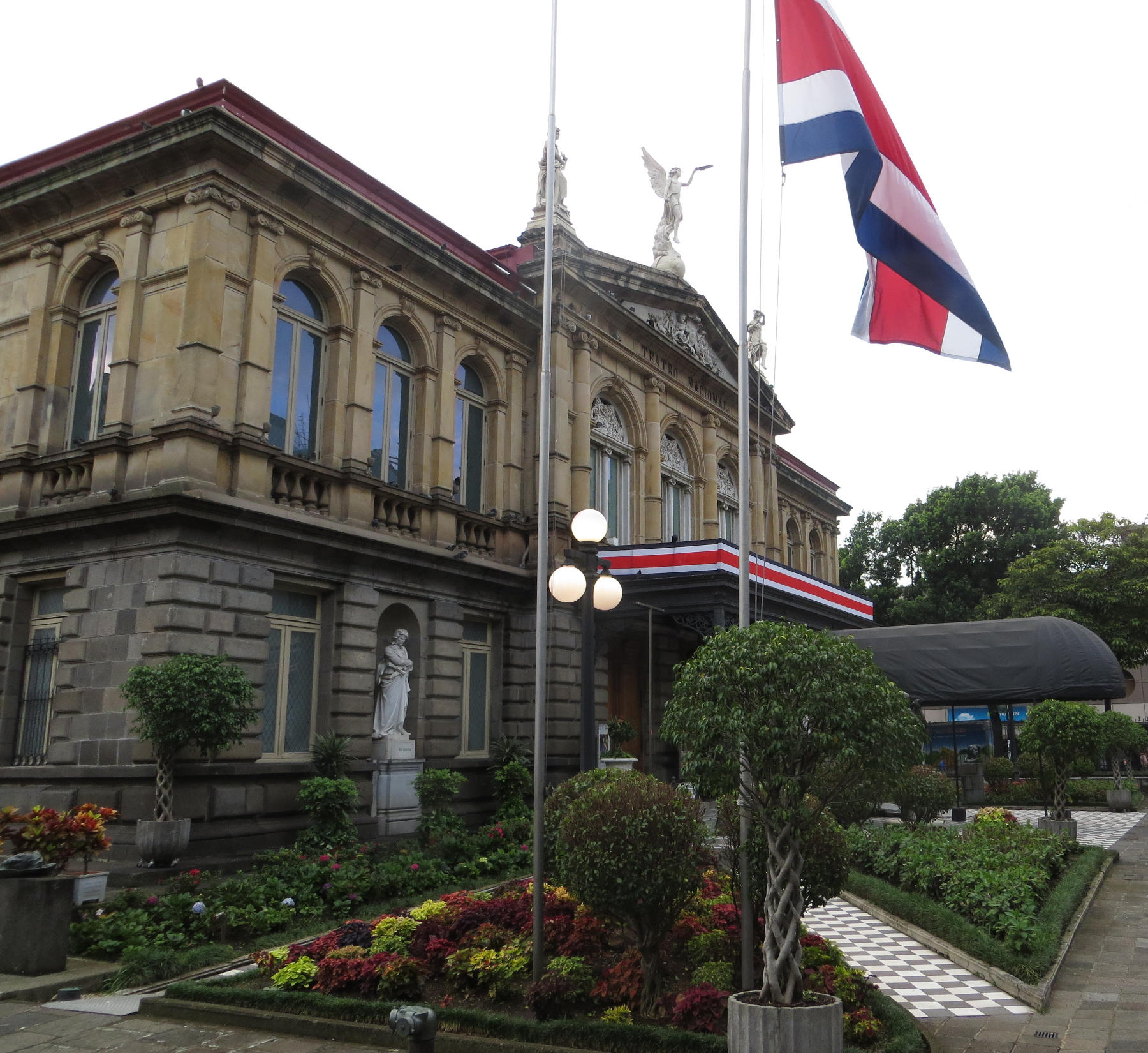 The National Theater of Costa Rica is an architectural and cultural gem in the heart of Downtown San José, Costa Rica
