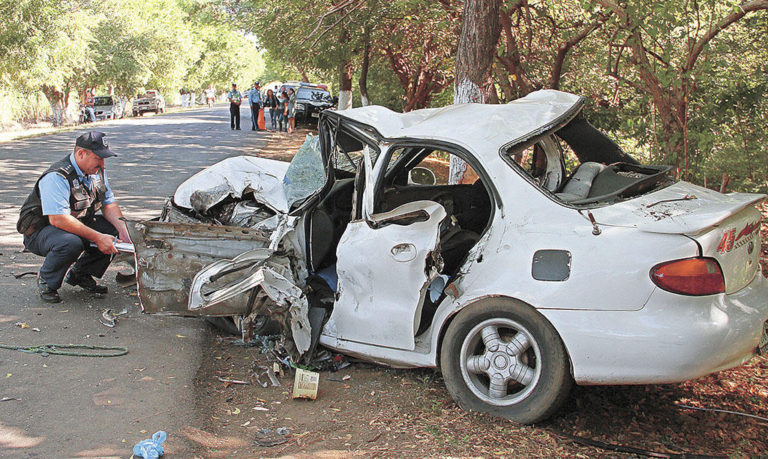 On average, 2.5 People Die Every Day In Nicaragua In Traffic Accidents