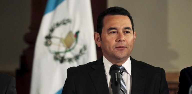 Guatemala President Halts Promise to Donate 60 Percent of His Salary amid Legal Issues