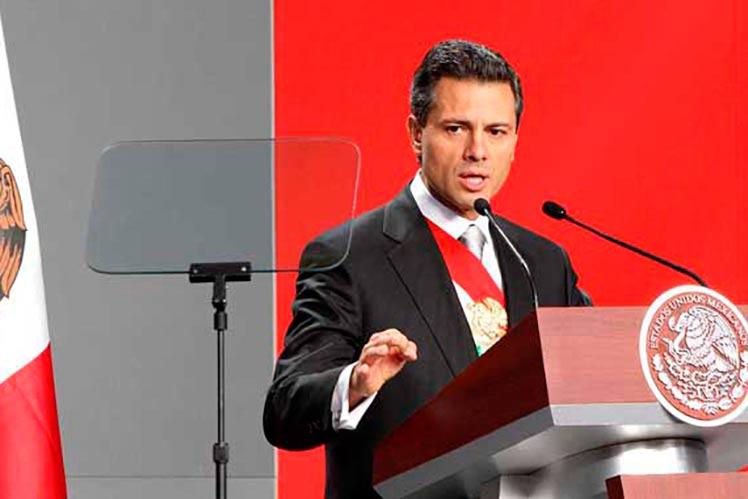 Nieto Promises Defending Mexico